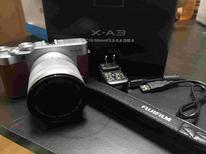 FUJIFILM ミラーレス一眼カメラ X-A3