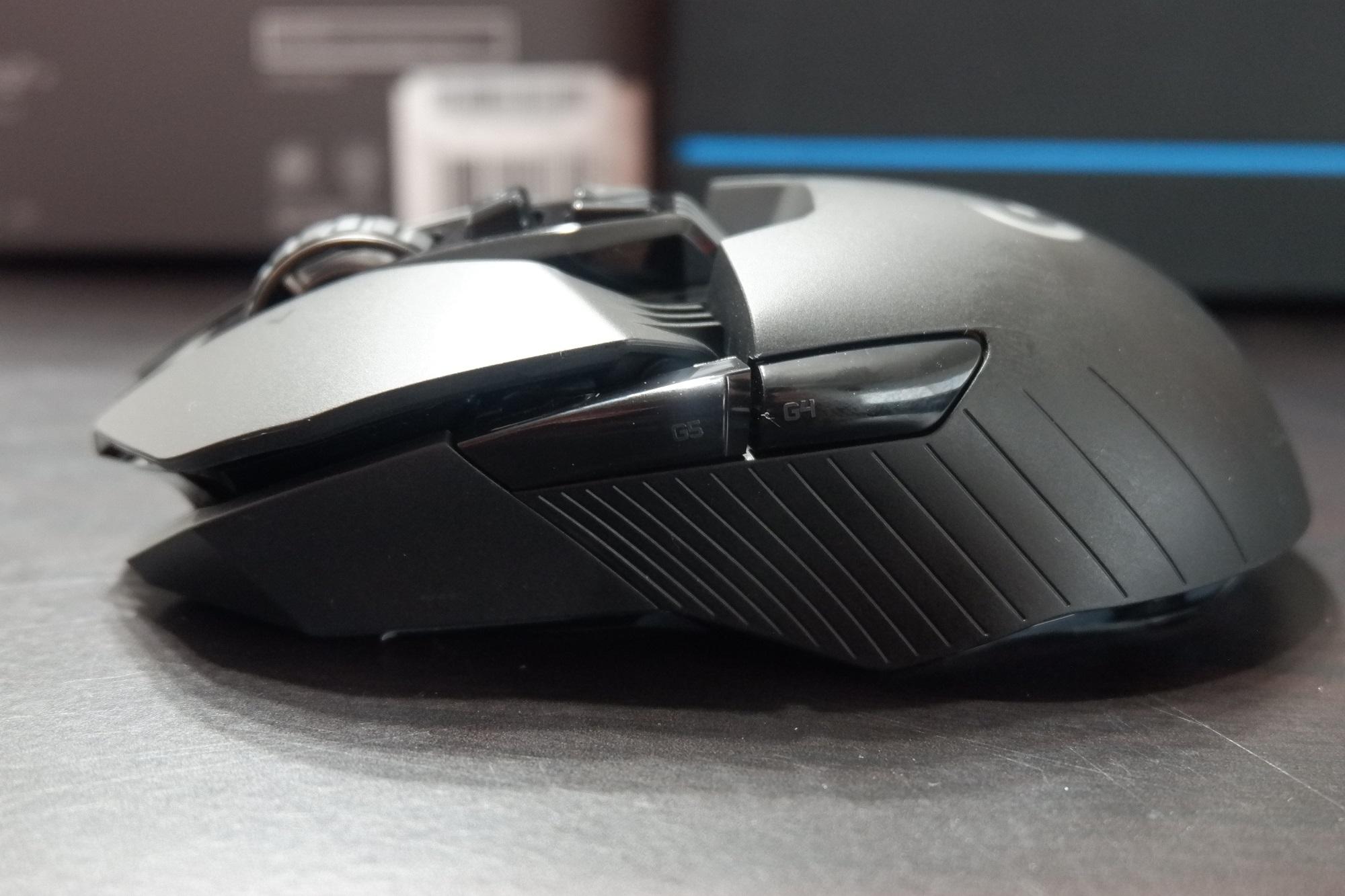 G903 - 左側面