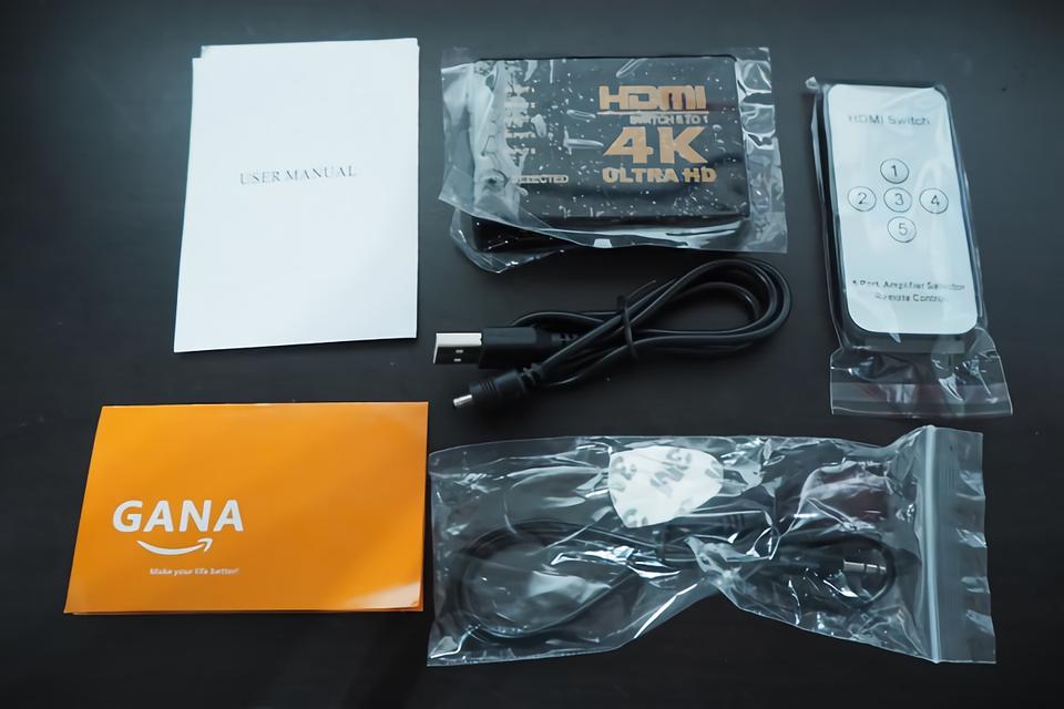 HDMIセレクター - セット品