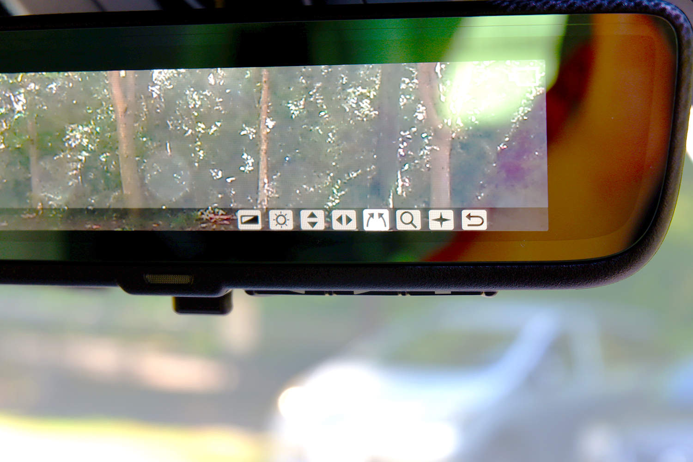 新型ヴェルファイア - デジタルインナーミラーメニュー