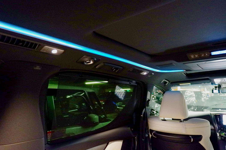 新型ヴェルファイア - LEDルーフカラーイルミネーション