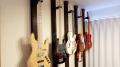 賃貸OKなギター壁掛けスタンドをディアウォールと2×4材で実現しよう!ギターに優しく低コスト