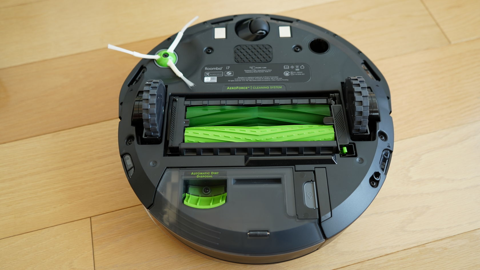 iRobot Rommba i7+ - 底面