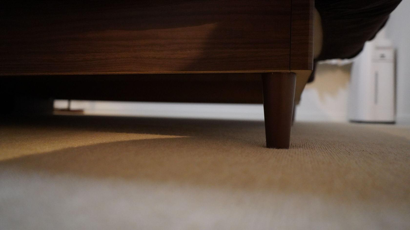 iRobot Rommba i7+ - 家具の高さ