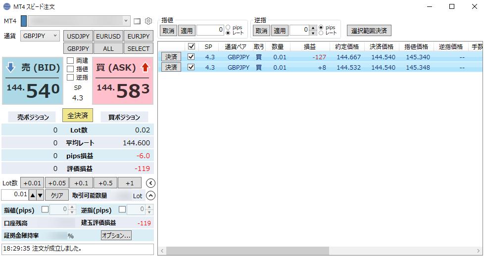 SpeedMT4 - 拡張領域