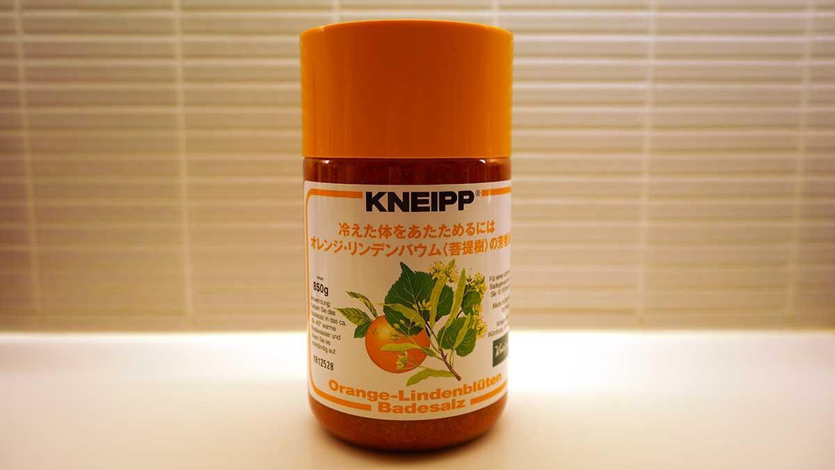 買ってよかったもの2019 - KNEIPPオレンジ・リンデンバウム