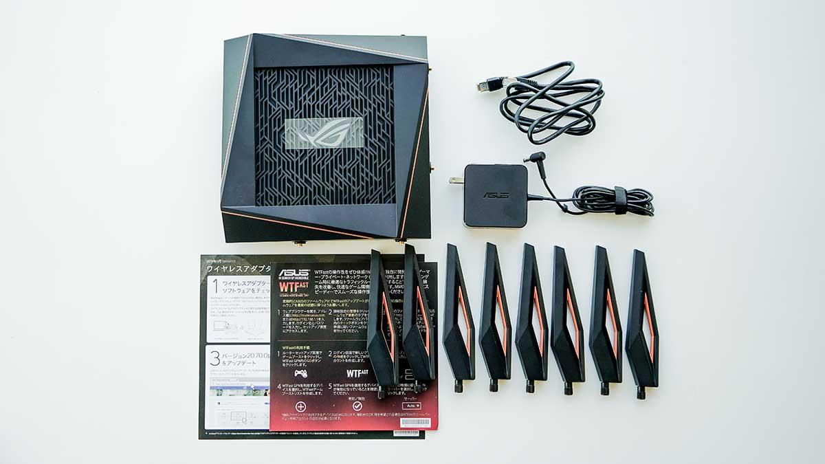 ASUS ROG Rapture GT-AX11000 - セット品