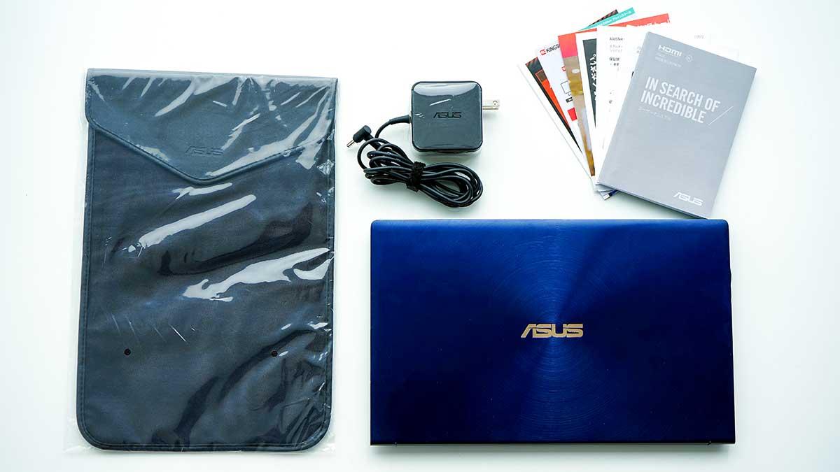 ZenBook 14 ASUS UX434FL - 付属品