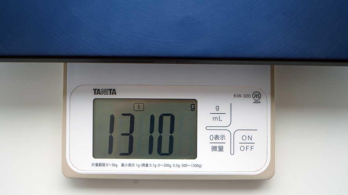 ZenBook 14 ASUS UX434FL - 重さ