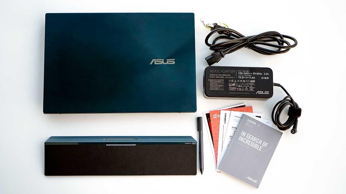 ASUS ZenBook Pro Duo UX581GV - 付属品