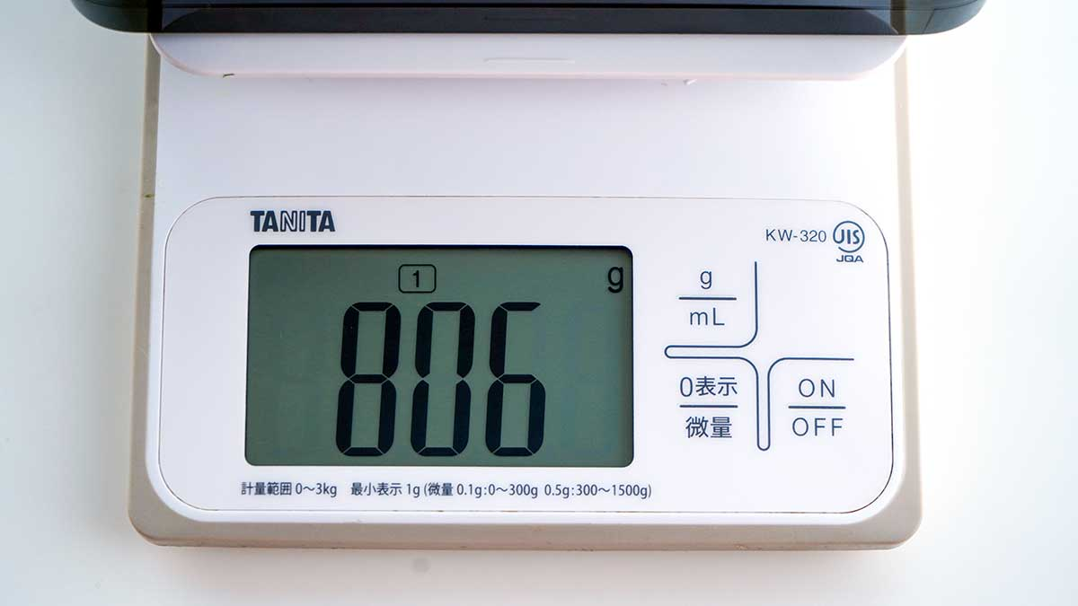 ASUS ZenBook Pro Duo UX581GV - 電源アダプターの重量
