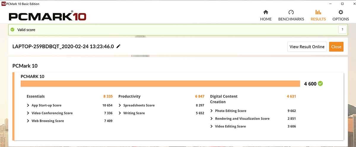 ASUS ZenBook Pro Duo UX581GV - PCMark 10
